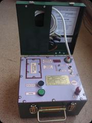 Аппарат шахтного испытания кабелей АШИК-1Т совместно с искателем ИКП-1